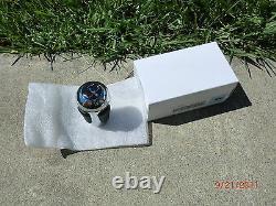 2002-2006 BMW E46 M3 Genuine SMG transmission Gear shift leather chrome knob