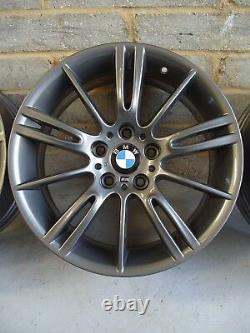 2593 Genuine 18 BMW MV3 3 Series E90 91 92 93 Grey Alloy Wheels And New Tyres