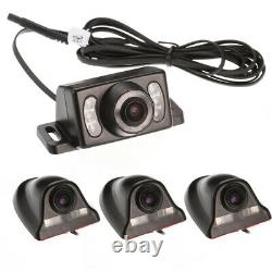 4CH 720P Panoramic 360°Car DVR Video Recorder Real-Time SD+4x Camera+7 Monitor