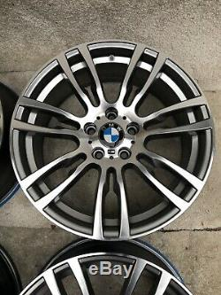 4 X Genuine BMW F30 F31 F32 19 alloy wheels 403M Set Performance m sport OEM