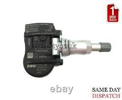 4x GENUINE BMW TPMS TYRE PRESSURE CONTROL WHEEL SENSOR BMW 1 2 3 F20 F22 F30 F31
