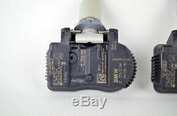4x Genuine BMW 1er 2er 3er X5 X6 Tire Tyre Pressure Sensor Switch TPMS 6881891