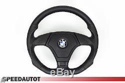 Abgeflacht Leder Lenkrad mit AIRBAG BMW M3 E46 Steering Wheel