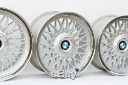 BMW 16 BBS #5 CUSTOM POLISHED 4x100 Genuine Factory OEM Wheels E30 E21 E10 2002