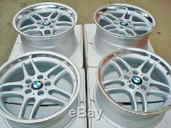 BMW 18 Genuine M Parallel OEM Factory Wheels E38 E90 E32 E34 F30 E28 M5 M6 740i
