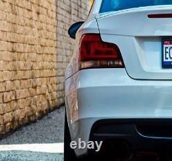 BMW 1 Series E88 E82 Black Line Rear Tail Lights Lamp Facelift Retrofit Genuine