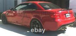 BMW 3 Series M3 E93 Real Carbon Fibre Fiber Performance Spoiler 2009-2012