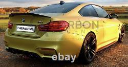 BMW 4 Series M4 F82 Real Carbon Fibre Fiber High Kick PSM Style Rear Spoiler