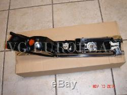 BMW E31 8-Series Genuine Front Left Turn Signal Light Lens 840i 840ci 850ci NEW