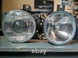 BMW E34-E32 headlights Euro ellipsoid Hella! NEW! GENUINE OEM