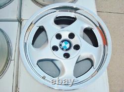 BMW E34 M5 Genuine 17x8 OEM #21 M-System Wheels E24 E28 E30 M3 E31 E9 M6