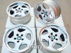 BMW E34 M5 Genuine 17x8 OEM #21 M-System Wheels E24 E28 E32 E30 M3 E23 E31 E9 M6