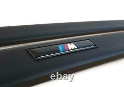 BMW E36 3 Series Sedan M Door Molding Trim Strips SET GENUINE 82119403144