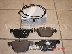 BMW E70 X5 Genuine Front Brake Pads, Pad Set withSensor 35d 35i xDrive 2011-2013