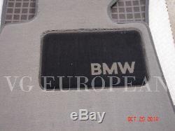BMW E90 E91 3-Series Genuine Carpeted Floor Mat Set, Mats NEW 2006-2011 Set of 4