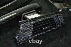 BMW E92 E93 M3 real carbon fiber interior trim kit convertible coupe RHD i-drive
