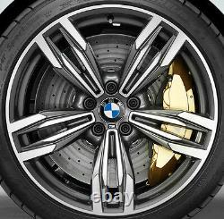 BMW F12 F13 F06 M6 OEM Genuine Style 433 20 M Double Spoke Wheels Gloss Turned