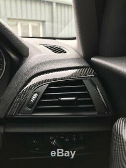 BMW F20 1 Series Carbon Fibre Interior Dash Panel Covers F20 M135i m140 genuine
