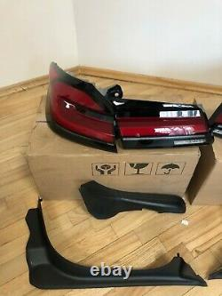 BMW G30 F90 5 series LCI Rear lights tail lights euro specs amber OEM Genuine