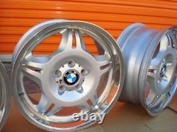 BMW Genuine 17x7.5 17x8.5 FORGED LTW E36 M3 #24 OEM Wheels E46 Z3 Factory BBS M5