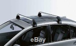 BMW Genuine Aluminium Lockable Roof Bars Rack Support E81/E87/E90 82710403104