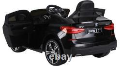 BMW Genuine Baby Racer GT SUV Kids Ride On 12v Push Toy Car Electric Battery RC
