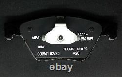BMW Genuine Front Brake Kit Set- Disc, Pad, Sensor Fit for BMW 5 Series F10/F11