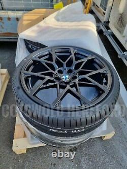 BMW Genuine G20 G22 RDCi Wheel & Tyre Set 795M Black M Performance 36112459620