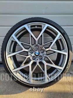 BMW Genuine G20 G22 RDCi Wheel & Tyre Set 795M Grey M Performance 36112459546