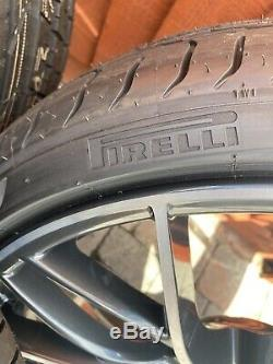 BMW Genuine M Performance 405 M 20 Alloy Wheels With Tyres New
