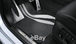 BMW Genuine M Performance Car Carpet Floor Mats Front Set F10 F11 51472365218
