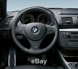 BMW Genuine M Steering Wheel Cover Trim Black 1/3 Series X1 32307845527