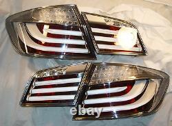 BMW Genuine Original OEM 5 Series 2011-13 F10 White-Line European Taillights NEW
