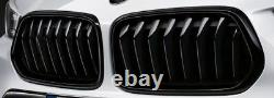 BMW Genuine X2 Black Kidney Grille Set M Performance F39 51712455246 51712455247