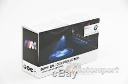 BMW LED Door Projectors OEM Genuine, Set of 2, 1 2 3 4 5 6 7 Series 63312414105
