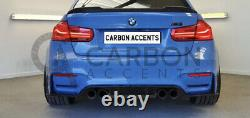 BMW M3 F80 M4 F82 F83 Real Carbon Fibre Rear Diffuser V Style