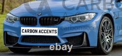BMW M3 F80 M4 F82 Real Carbon Fiber Front Splitter Lip M Perfomance F83