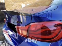BMW M4 Coupe Real CARBON FIBRE FIBER SPOILER F82 M4 Boot Trunk Lid 2014+