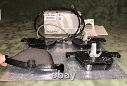 BMW Rear Brake Pad Set+Brake Sensor Kit E70 E71 F15 F16 X5 X6 M Genuine
