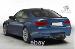 Bmw 3 Series E92 Coupe M Performance Rear Trunk Spoiler Real Carbon Fibre Uk