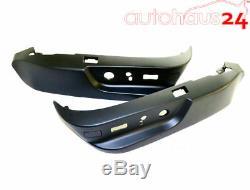 Bmw E38 E39 525i 528i M5 530i Black Seat Switch Cover Set Genuine Oem 1995-2003