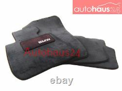 Bmw E92 3-series Coupe Carpeted Floor Mat Set Mats New 07-13 328i 335i Genuine
