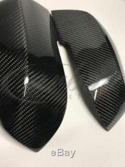 Bmw F10 5 Series Lci Real Carbon Fibre Wing Mirror Covers M Performance Carbon