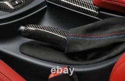 Bmw Genuine M Performance Handbrake Handle Grip Boot Gaiter Alcantara 2358364