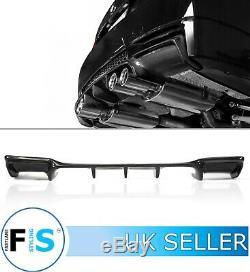 Bmw M3 E92 E93 3d Style Real Carbon Fibre Rear Diffuser Valance Oem Fit 07-2013