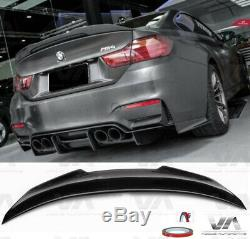 Bmw M4 F82 Psm Style Real Carbon Fiber Boot Trunk Lip Spoiler