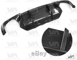 Bmw M5 F10 Dtm Real Carbon Rear Diffuser 2 Fin