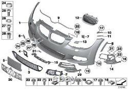 Bmw New Genuine 3 Serie E92 E93 LCI M Sport Front Bumper Lower Grilles Mesh Set