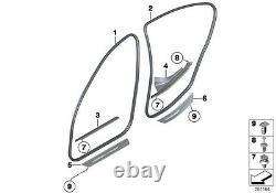 Bmw New Genuine 5 Series F10 F11 Front Door Seal Edge Protector Trim 7278503