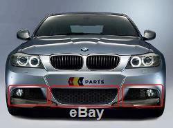 Bmw New Genuine E90 E91 3 Series M Sport 08-11 LCI Front Bumper Lower Grill Set